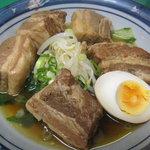 ラーメン青葉 - 豚バラ角煮 650円