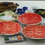 すき焼き福田屋 - 料理写真:しゃぶしゃぶ各種
