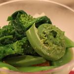 ボン・グゥ 神楽坂 - 春野菜とズワイガニのジュレ のアップ