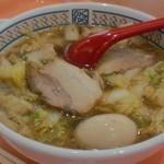 どうとんぼり神座 イオンモールナゴヤドーム前店 - 煮卵ラーメン