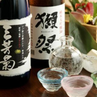 <日本酒に拘る>三酒飲み比べも!日本酒ビギナーも楽しめます