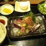 Hinata - ランチの刺身定食