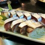 18175743 - 鯖の一本寿司¥1000