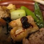 江戸路 - ねぎまに特製一味唐辛子