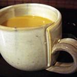 mani cafe - 良く見ると面白いデザインのカップです