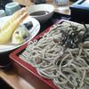 そば処権平 - 料理写真:私はまた天婦羅蕎麦ー