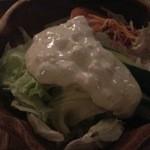 18178316 - セットのサラダ(ブルーチーズドレッシング)