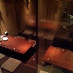 鳥どり - 8名様用半個室(テーブルは動かせます)