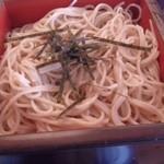 麺どころ いづみ - 1段目のざるそば(2013.7)