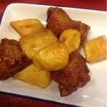 幸田町食堂 - 鶏とじゃがいもの照り焼き