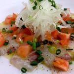呑具里 - 白身魚のカルパッチョ
