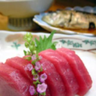新鮮な魚をご堪能ください。
