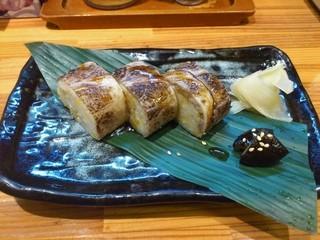 ちばき屋 仙台店 - ランチセットB(支那そば+あぶり焼豚寿司)