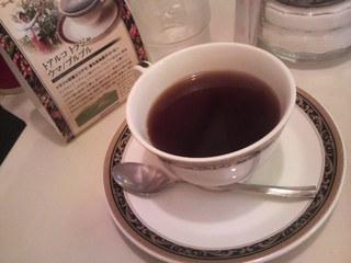 画廊喫茶ミロ - ブレンドコーヒーはトアルコトラジャ