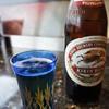 すし処 絲魚 - ドリンク写真:寒くてもビール