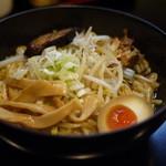 麺屋 帝旺 - 普通の油そば( ̄ー ̄)bグッ