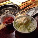 牛角 - キムチとやみつき塩ダレキャベツ