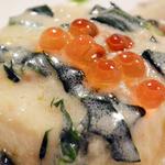 プチレストラン 雅司亭 - 帆立のムース、ほつれん素のクリームソース