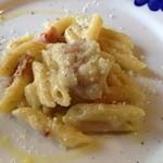 ヴィッラ デルピーノ - ひのじゃがと生ハム、イタリアチーズのペンネ