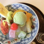 櫻子 - 抹茶クリームみつ豆