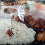味処 しんわ - 料理写真:チキンカツ弁当