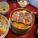 18190486 - せいろ膳 1,995円也(税込み) これがお薦め!小鉢、さらだ、お吸い物、香の物、水菓子が付く(これで充分!)