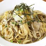 桂木4丁目レストラン - きのこの和風おろしスパゲティ