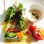 Restaurant Potager - 料理写真:前菜オードブル