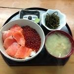 二条食品 - サーモン・イクラ丼