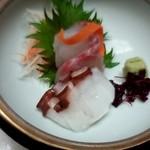 松風苑 - 前菜お造り