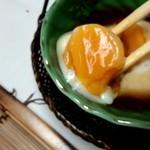 松風苑 - 温泉卵の黄身