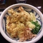 饂飩工房 うばら - 2013.04.04  冷や鶏天ぶっかけ!