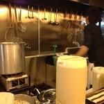 麺屋 一慶 - ●2013.2月  厨房