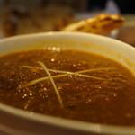 18194097 - 日替わり、鶏と挽肉のインドカレー