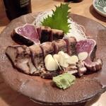 黒尊 - 鰹の塩タタキ