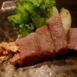 朱藏 - さくら牛のサーロインアッツプ