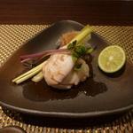 朱藏 - 鯛の白子の焼物