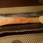 朱藏 - 明太子バターの春巻き