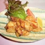 味心 その田 - 大山鶏ガーリックステーキ
