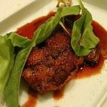 和食 加寿也 - あん肝の照り焼き