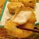 和食 加寿也 - フグの白子の天ぷら