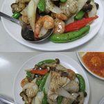18200918 - 黒椒炒双菜