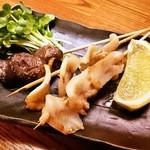 高岡大衆酒場 - バイ貝の串焼き