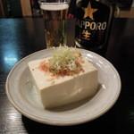 うな太郎 - 【再訪】冷奴に瓶ビール