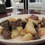 アグリューム - じゃが芋・鶏レバー・砂肝の温製サラダ