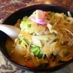 グッピー - 料理写真:スープないの?というくらいに山盛り野菜!