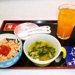 小樽ポセイ丼 - お子様定食もございますので、ご家族で安心してご来店くださいませ。