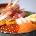 小樽ポセイ丼 - 北海道新聞社主催 「これ食べたい大賞」2年連続受賞!!この豪華さでなんと2100円!