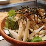 お好み焼き 百花 - 大根サラダ525円