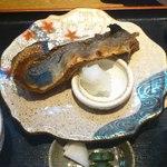 18209085 - 日替わり御膳(ほっけの醤油漬け焼き)